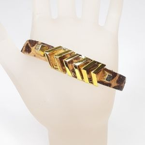 Vince Camuto Bracelet Arrow on Calf Hair Band